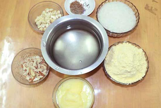 besan-ka-halwa-ingredients